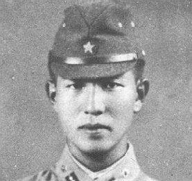 Hiroo Onoda as a young officer, c 1944. Courtesy of Wikimedia Commons.