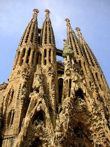 Sagrada Família in Barcelona. Photo by  Marek Holub via Wikimedia Commons.